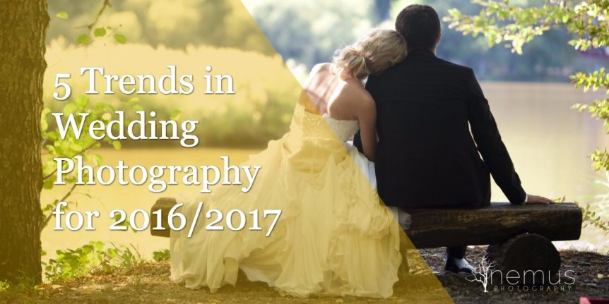 5 Trends in Wedding Photography