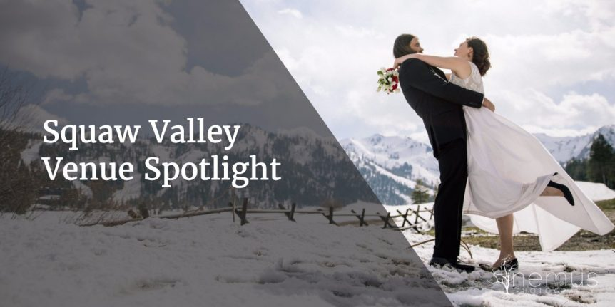 wedding venue spotlight at squaw valley